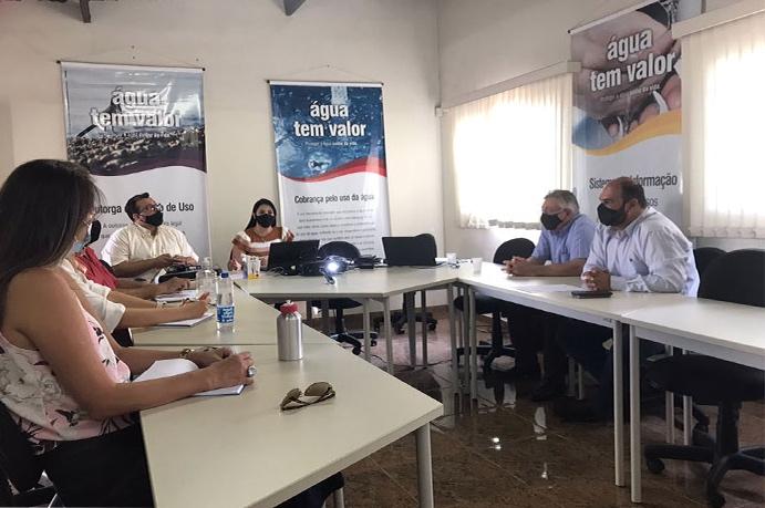 Em reunião, Diretoria do CBH Araguari define visita aos municípios na bacia e conhece nova equipe de comunicação